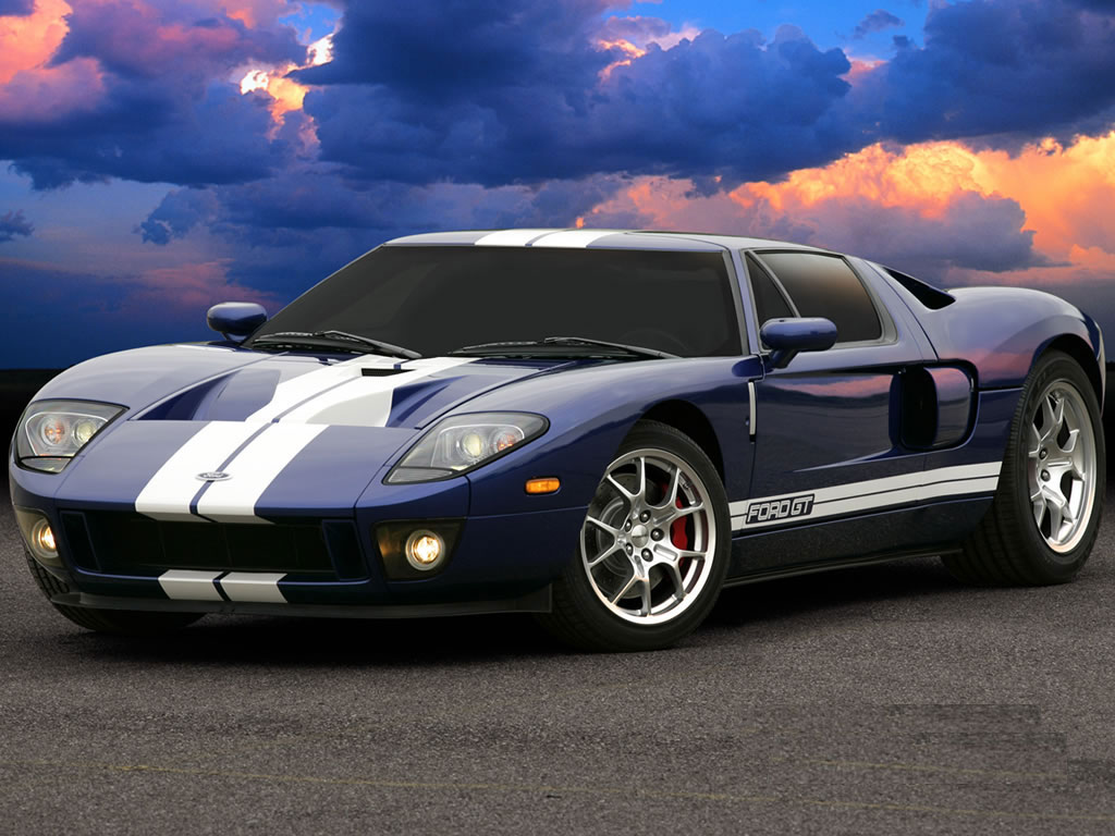 Ford GT Sport Car Wallpaper